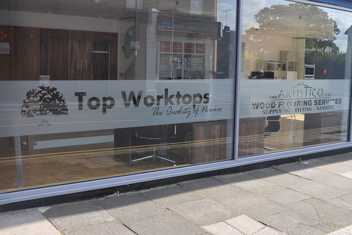 Top Worktops Shopfront
