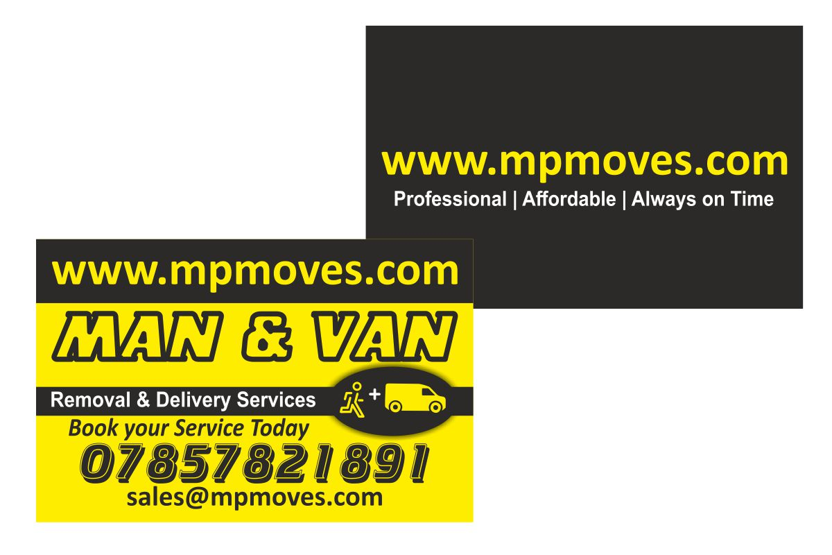 M & P Moves Business Cards