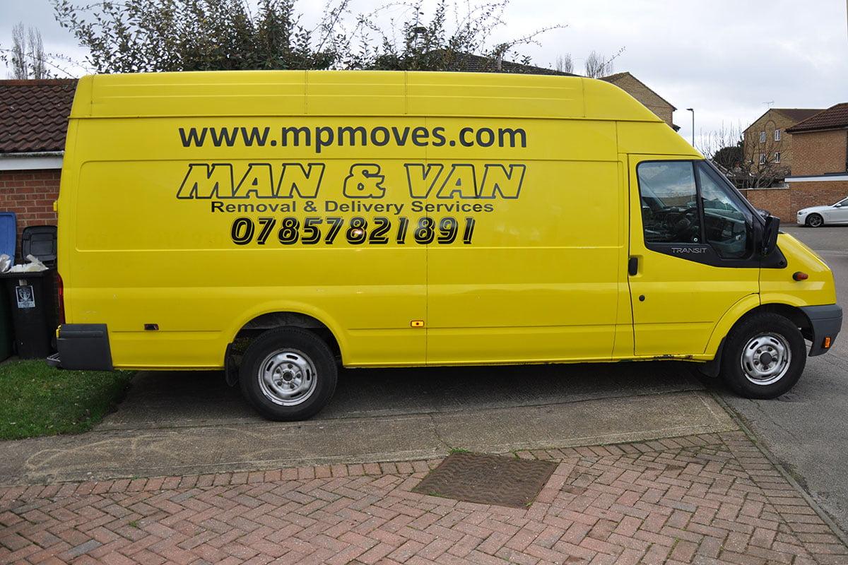 M&P Moves Van Signs