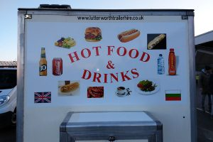Burger Van Signs