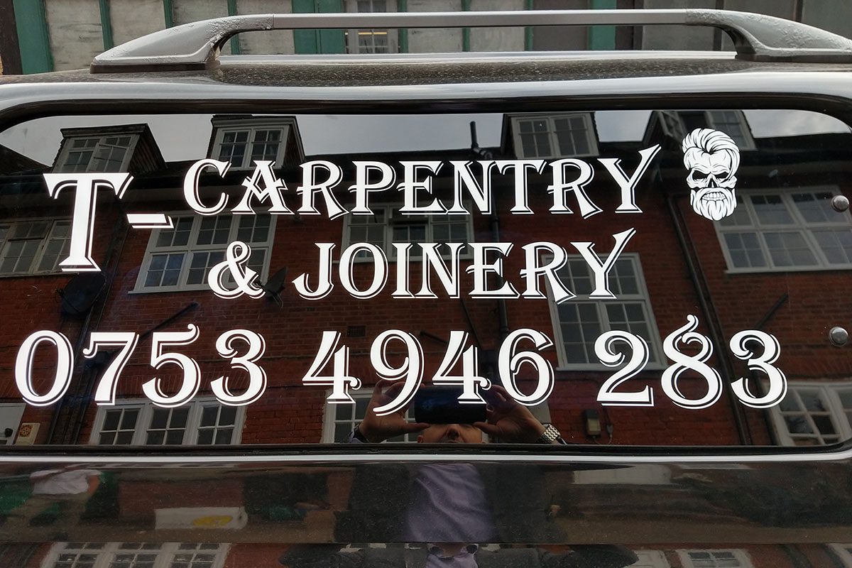 T-Carpentry Vehicle Signs