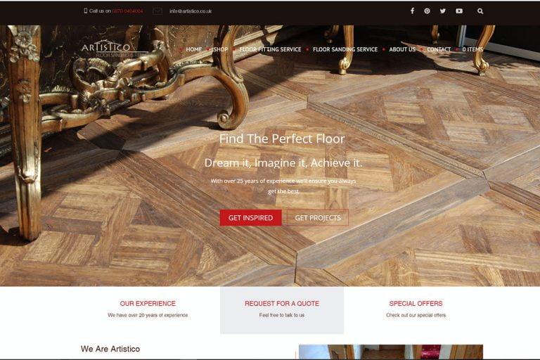 Artistico website