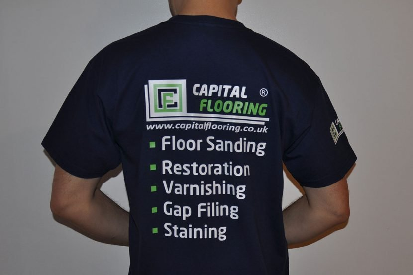 Capital Flooring Printed Workwear T-shirts