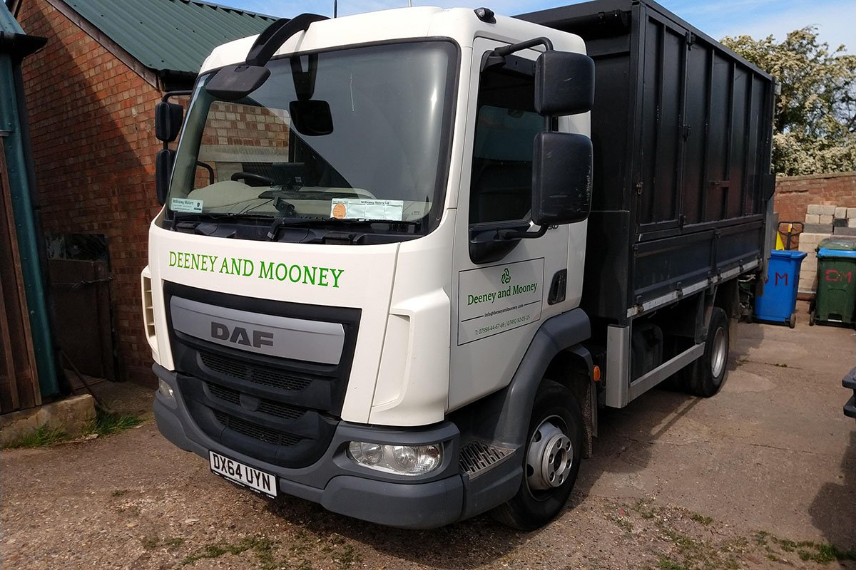 Lorry Signs - Deeney & Mooney