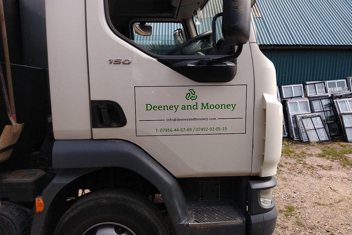 Lorry Signs - Deeney & Mooney
