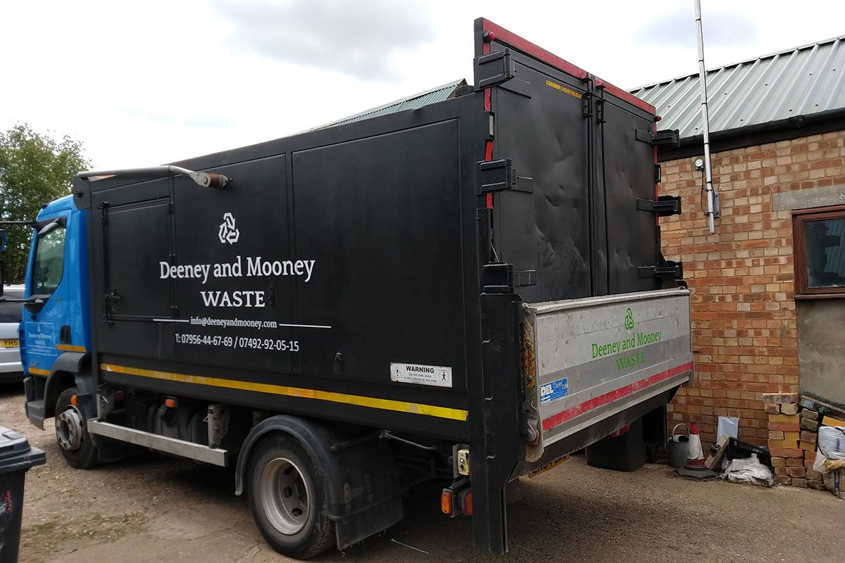 Waste Truck Signage - Deeney & Mooney